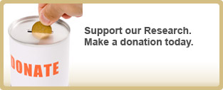 Support our Research. Make a donation today.